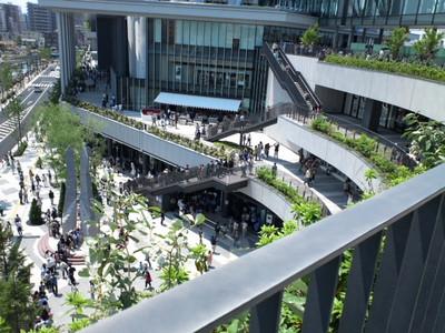 ソラマチ4階バルコニー?からの風景