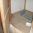 木戸邸の外トイレ(汲取り式)